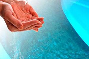 A desinfecção e imunização de caixa d'água