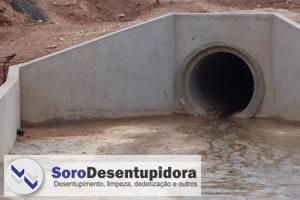 Desentupimento de Redes de Águas Pluviais em Sorocaba