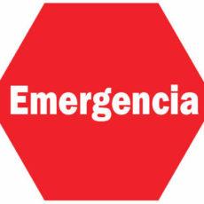 Serviço de emergência!