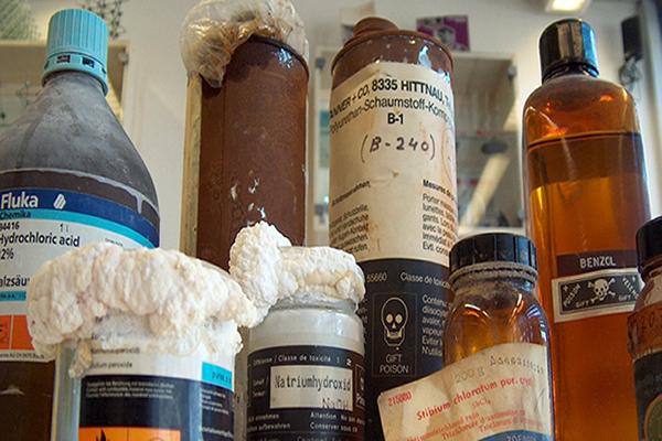 Resíduos Químicos em Sorocaba