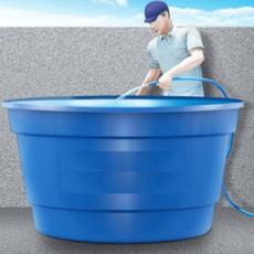Como é feita a desinfecção das caixas d'água?